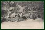 CPA St Jacut De La Mer Pêcheuses Dans Les Rochers état Neuve - Saint-Jacut-de-la-Mer