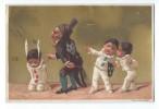 1 Chromo à Fond Doré/Magasin Au Bon Marché/Punition Bonnet D'Ane/Testu & Massin/vers 1885-1890    IMA18 - Au Bon Marché