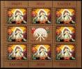Rumänien 2010 MiNr. 6423 I Kleinbogen/ Miniature Sheet  **/ Mnh  OSTERN: Auferstehung Christi, Ikone - 1948-.... Repúblicas
