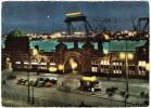 Hamburg: MESSERSCHMITT KABINEN-ROLLER, VW 1200, DKW 3=6, MOTOR, TANKSTELLE - SCHIFFE -  St. Pauli-Landungsbrücken - PKW