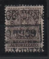 Eritrea 1939 Recapito Autorizzato US - Eritrea