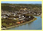 CPSM  LAHNSTEIN Lahnmündung Bei Niederlahnstein Mit Lahneck - Lahnstein