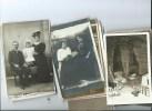 Lot De 25 Cartes Photos  D Inconnu - Cartes Postales