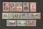 BRITISH HONDURAS 1938 SET SG 150/161  MOUNTED MINT Cat £190 - British Honduras (...-1970)