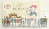 1985 USED Year Complete According To MIchel - Vaticano (Ciudad Del)