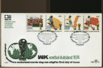 NEDERLAND - APELDOORN  -  WK  1974  -  Campionati Mondo 1974  FDC - Coppa Del Mondo