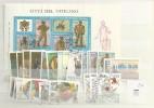 1987 USED Year Complete According To Michel - Vaticano (Ciudad Del)