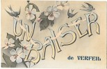 VERFEIL (31) Carte Fantaisie Baiser De - Verfeil