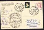 "ARCTIC, ITALIA, Expeditiion ""TERRA NORD-EST"" 2000, Expeditions-Card No.314 + 7 Signatures, Look Scans !! 8.10-08 - Antarctische Expedities"