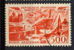 France 1949 500fr Marseille Issue #C26 - Airmail