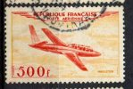 France 1954 500fr Jet Plane Issue #C31 - Airmail