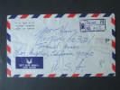 China / Taiwan 1977 Registered Letter. Air Mail. Schöne Buntfrankatur! Taipei 70 No 1575. Mit Vermerk! Toller Brief!! - Briefe U. Dokumente