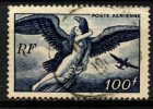 France 1946 100fr Zeus Carrying Hebe Issue #C20 - Airmail