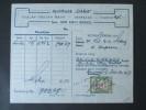 Indonesien 1957 Fiskalmarke?! Apotheek Gana. Denpasar. Djalan Gadjah Mada. Mit Original Rechnung!! Djumlah 799 - Indonesien