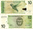 NETHERLANDS ANTILLES      10 Gulden      P-28g       1.2.2014      UNC - Netherlands Antilles (...-1986)