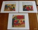 LOT DE 3 EX-LIBRIS TINTIN ~ HERGE MOULINSART 2011 / VOL 714 POUR SIDNEY - Ex-libris