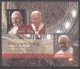 AUSTRIA, 2014 , MNH, POPES,  POPE JOHN PAUL II, POPE FRANCIS, POPE JOHN XXIII, SHEETLET - Popes