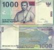 Indonesia Pick 141# 1000 Rupiah UNC - Indonésie