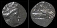 Euboia Histiaia AR Tetrobol - Griegas