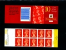 GREAT BRITAIN - 10x1st CLASS (H) NEED A POSTCODE  BOOKLET  MINT NH  SG HD39b - Booklets