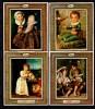 Niue 1979 IYC International Year Of The Child, Paintings Goya, Tizian Etc. Set Of 4 S/s MNH - Enfance & Jeunesse