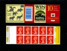 GREAT BRITAIN - 10x1st CLASS   DISNEY  BOOKLET MINT NH  SG HD45 - Booklets