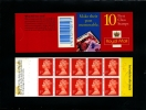 GREAT BRITAIN - 10x1st CLASS  CREATE A CARD  BOOKLET MINT NH  SG HD49 - Booklets