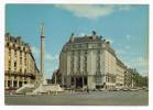 CAEN--Place Foch Et Monument Aux Morts (Hotel Malherbe,voitures),cpsm 15 X 10 N°14.118.218 éd La Cigogne---à Saisir - Caen