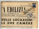 DEMOCRATICAL.5 ISOLATO SU GIORNALE COMPLETO  PROPRIETA´ EDILIZIA EMILIA ROMAGNA - DA BOLOGNA A FORLI IN DATA 2/3/1950 - Storia Postale