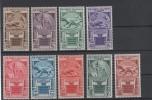 1933 Cinquantenario Eritreo Serie Cpl MLH - Italie
