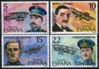 ESPAGNE 2229/2232** Pionniers De L´aviation - 1971-80 Ungebraucht