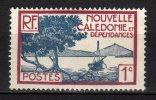 NOUVELLE CALEDONIE -  1928/40 Scott# 136 * - New Caledonia