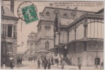 02 - Saint Quentin - Rue Du Palais De Justice - Les Halles Et Le Palais Fervaques - Editeur: P.D N° 180 - Saint Quentin