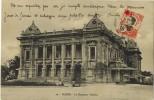 ASIE INDOCHINE VIÊT NAM TONKIN HANOÏ : Le Nouveau Théâtre - Vieux Timbre Porteur Charrette à Bras - Vietnam