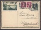 SUISSE - 1931 -  CARTE ENTIER POSTAL 10 Ct ILLUSTRE AVEC COMPL. D'AFFRANCHISSEMENT DE WINTERTHUR VERS BIBERACH AM RISS - - Interi Postali