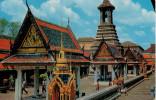 BANGKOK    INSIDE THE TEMPLE OF THE EMERALD BUDHA       (VIAGGIATA) - Tailandia