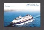BATEAUX - CRUISE SHIP - PAQUEBOTS - INFINITY - CELEBRITY CRUISES - REGISTRY LIBERIA - Paquebots