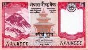 NEPAL RUPEES 5 BANKNOTE REPUBLIC OF NEPAL 2009 PICK-60a UNC - Nepal