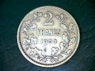 Leopold II - 2 Franc 1904 Ag - TH Vincotte (zonder Punt / Sans Point) - 1865-1909: Leopold II