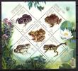 Ukraine 2012 Ucrania / Frogs Amphibians MNH Ranas Anfibios Amphibien Frösche / C10037  36 - Ranas