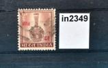 Vase, Bidriware, Roter Aufdruck ICC, Indien 1968 (in2349) - Non Classés
