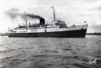 Cpm Le S.S. FALAISE, St Malo-dinard Dans L'estuaire De La Rance   (im.23) - Dampfer