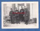 """Photo Ancienne - VILLIERS En LIEU ( Haute Marne ) - Groupe De Militaire """" Chez La Marthe """" - Octobre 1939 - WW2 - War, Military"""