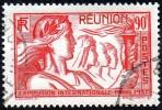 Réunion Obl. N° 153 - Exposition Internationale 90cts Rouge - Réunion (1852-1975)