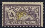 France: Yn Nr 122 MH/*,  Avec  Charnière , Mit Falz,  Signed/ Signé