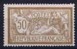 France: Yn Nr 120 MNH/** Sans Charnière  Has A Light Vertical Gum Fold - Neufs