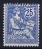 France: Yn Nr 127 MNH/** Sans Charnière