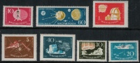 Hungary 1959 SC 1212-1218 MNH - Unused Stamps