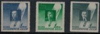Russia 1944 SC C77-C79 MNH - Unused Stamps
