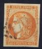 France: Yn Nr 48 A Obl/used  Signed/ Signé Calves - 1870 Bordeaux Printing